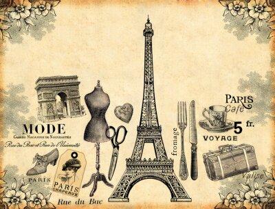 Poster Paris Background