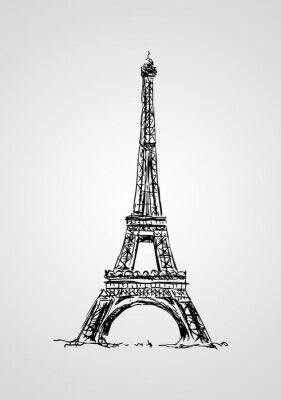 Poster Paris design illustrazione