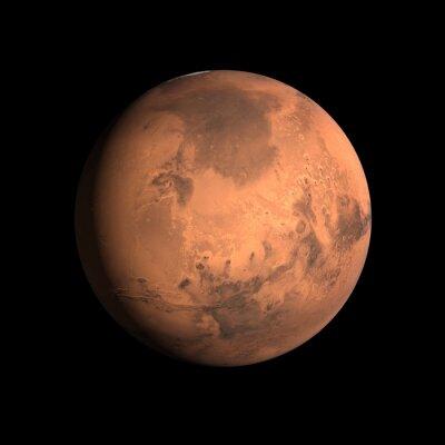 Poster Pianeta Marte
