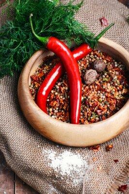 Poster Piccante spezia pepe