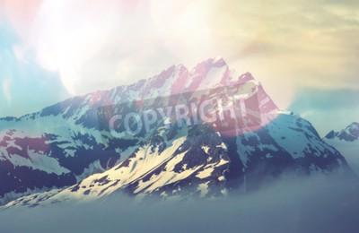 Poster picco di montagna