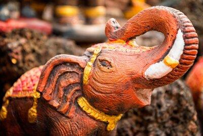 Poster Piccola statua di elefante