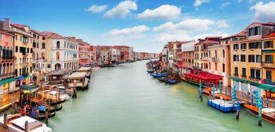 Poster Ponte di Rialto e sul Canal Grande - Venezia