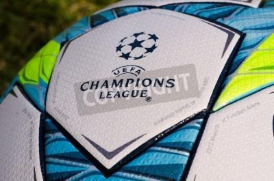 Poster Questa è la palla ufficio giocato nella partita finale tra Bayern Monaco e Chelsea