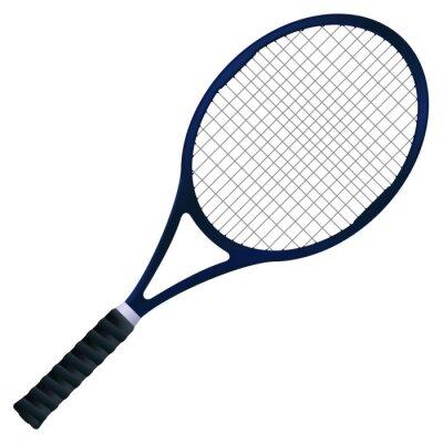 Poster Racchetta da tennis