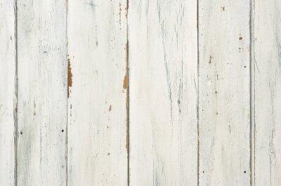 Poster Rustico sfondo bianco di legno