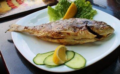 Poster ryba z grilla
