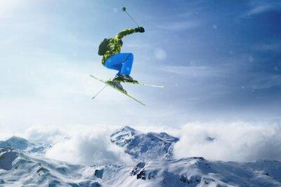 Poster Salti Sciatore