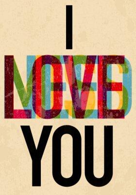 Poster San Valentino Day tipo di testo calligrafico