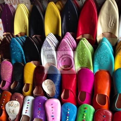Scarpe marocchine manifesti da muro • poster mulo 8f97b99f3aa