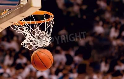 Poster Segnare i punti vincenti in una partita di basket