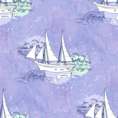 Poster Senza soluzione di continuità onde Patt navi