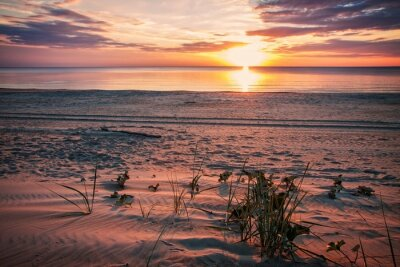 Poster Serata tranquilla sulla spiaggia