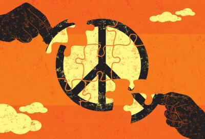 Poster Soluzione per la Pace