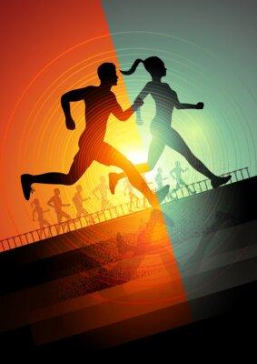 Poster Squadra di corsa