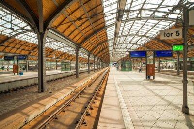 Poster stazione ferroviaria wroclaw