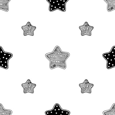 Poster stelle di legno modello 3