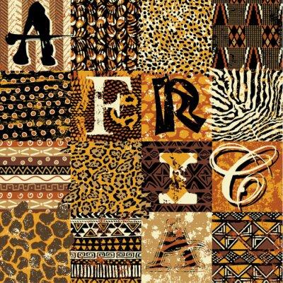 Poster Stile africano vettoriale