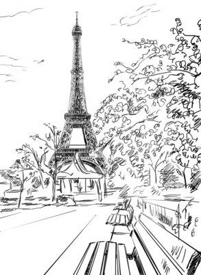Poster Strada di Parigi.