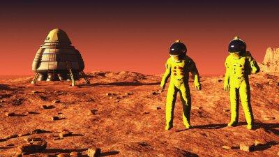 Poster su Marte