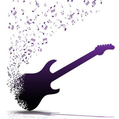 Poster Suonare la chitarra