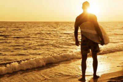 Poster Surf, l'Australia, Tavola da surf.
