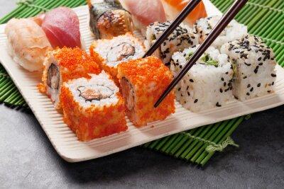 Poster Sushi e maki set