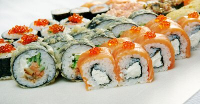 Poster Sushi Roll.