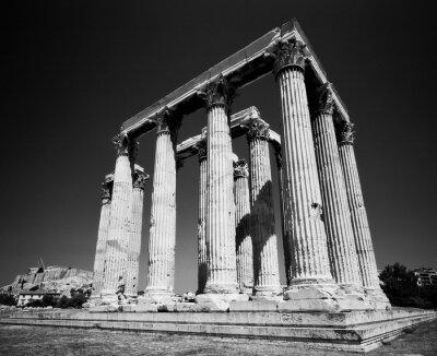 Poster Tempio di Zeus