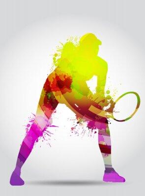 Poster Tennis, Competizione, torneo