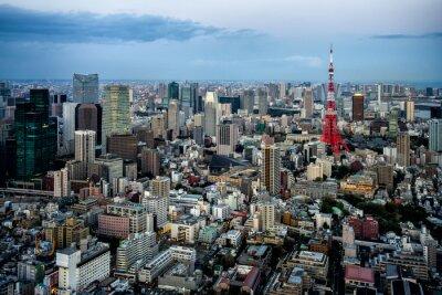 Poster Tokio vista città