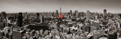 Poster Tokyo orizzonte