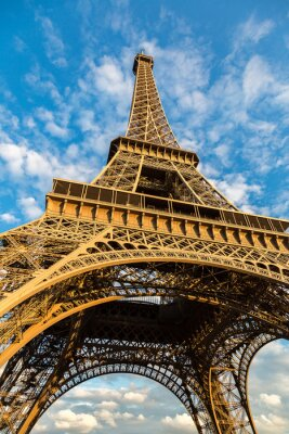 Poster Torre Eiffel a Parigi