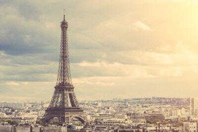 Poster Tour Eiffel a Parigi