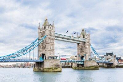 Poster Tower Bridge di Londra, Regno Unito