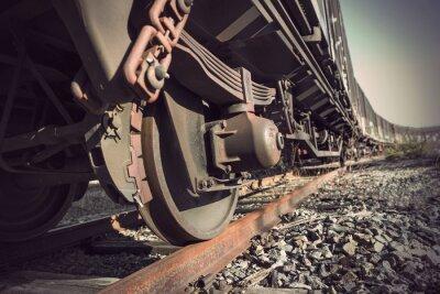 Poster treno d'epoca
