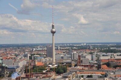 Poster TV Tower, Alex, Skyline, Berlin, Berlin-Mitte, il centro, Radio Torre, Alexanderplatz, Municipio di Berlino, Città, Berliner Dom, Unter den Linden, centro, centro, Alexanderplatz, Capitale