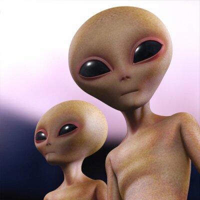 Poster umanoide