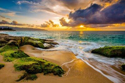Poster Un bel tramonto hawaiano
