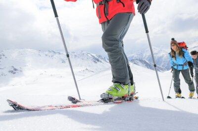 Poster Unterwegs auf Skitour