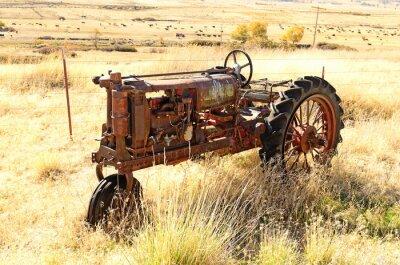 Poster Vecchio trattore
