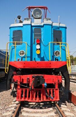 Poster Vecchio treno