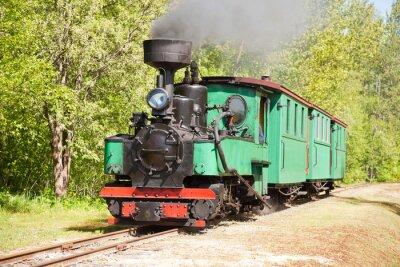 Poster Vecchio treno a vapore