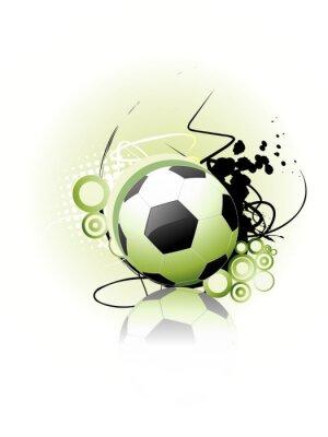 Poster Vector Football arte