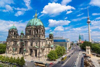 Poster Veduta del Duomo di Berlino