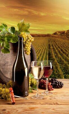 Poster Vino in vigna