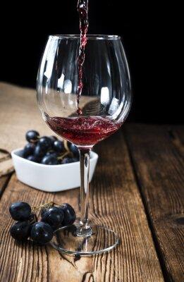 Poster Vino rosso