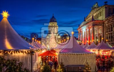 Poster Weihnachtsmarkt Berlino