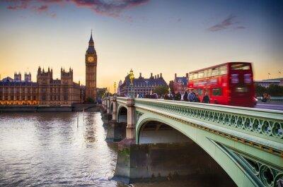 Poster Westminster Bridge