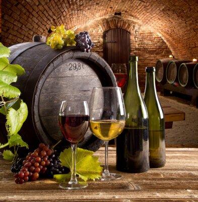 Poster Wine still-life